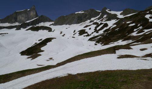 Artikelbild zu Artikel Schneelage in den Allgäuer Alpen