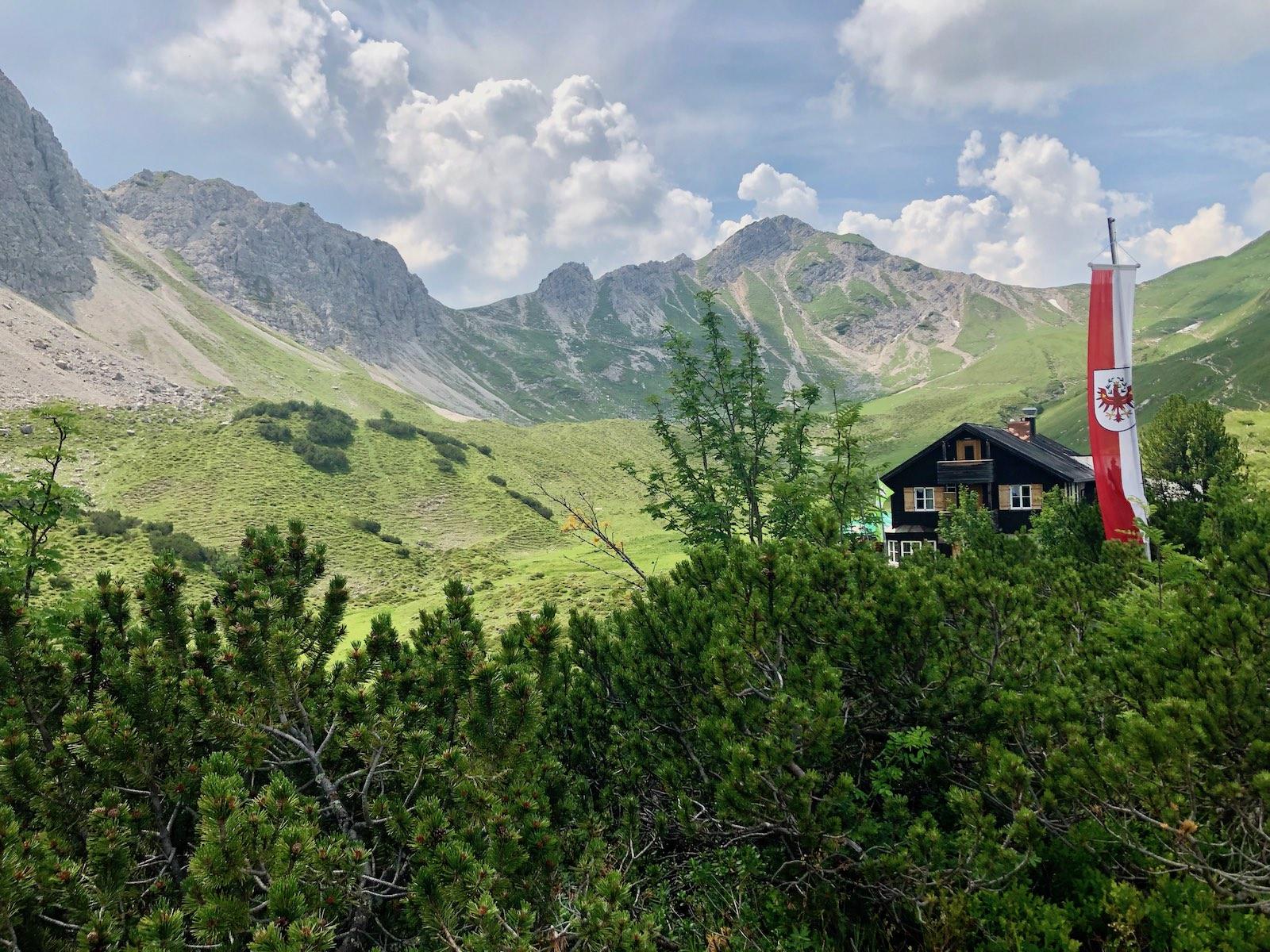 Die Landsberger Hütte