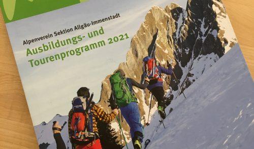 Artikelbild zu Artikel Ausbildungs- und Tourenprogramm 2021 ist online